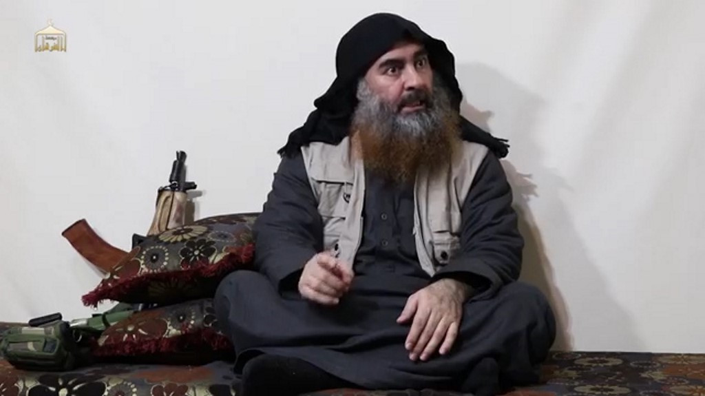 Abu Bakr al-Baghdadi, the Islamic State group's elusive leader