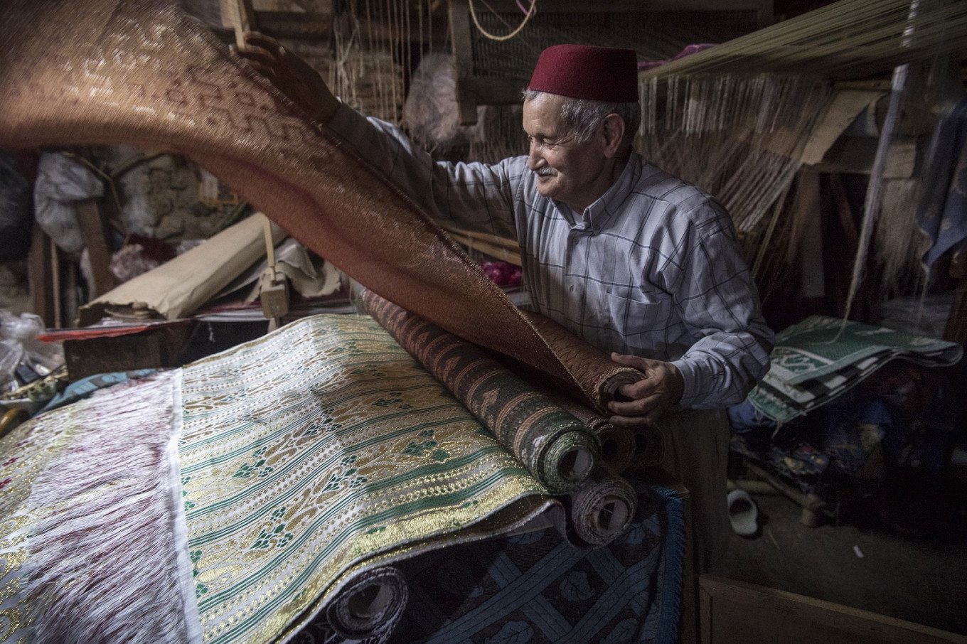 Historical threads: Morocco's last brocade master