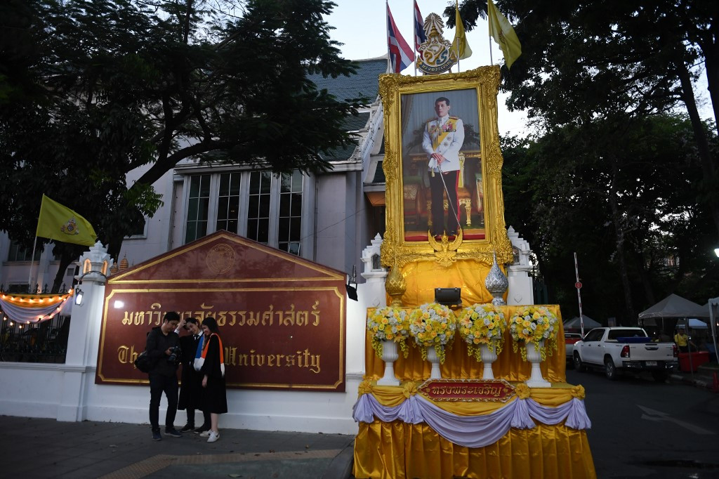 Making of a monarch: King's image peppers Thailand ahead of coronation