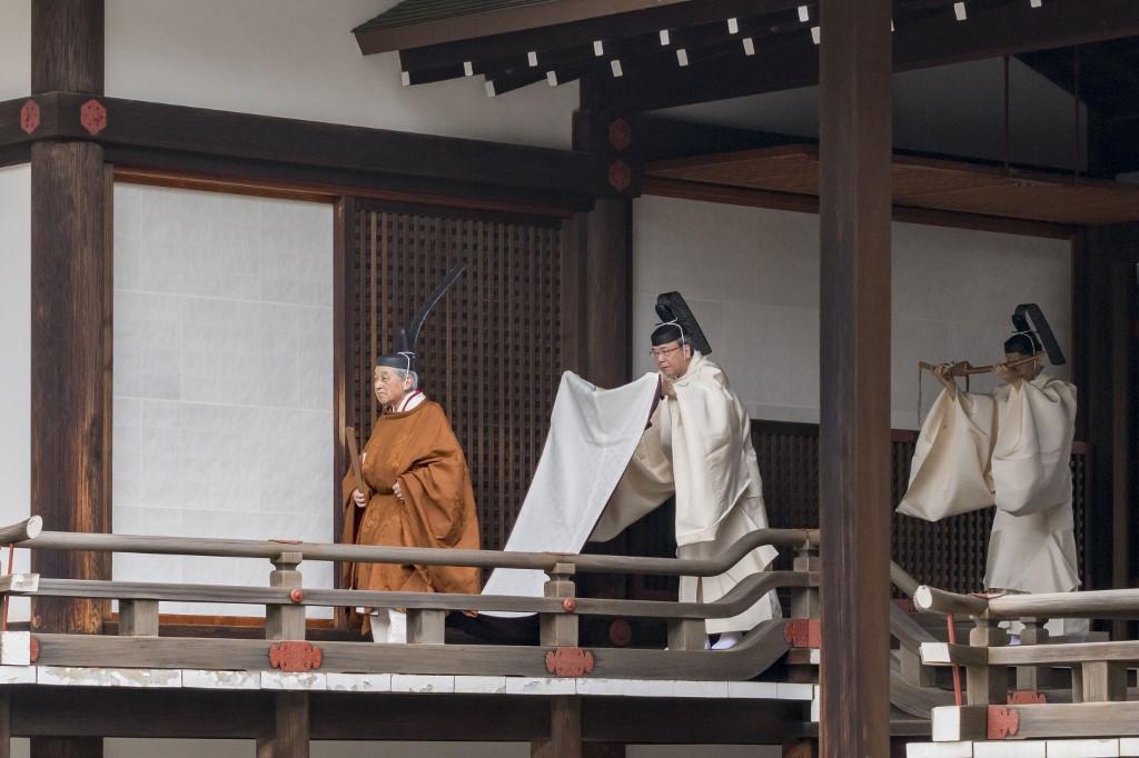 End of an era: Japan's emperor kicks off abdication rites