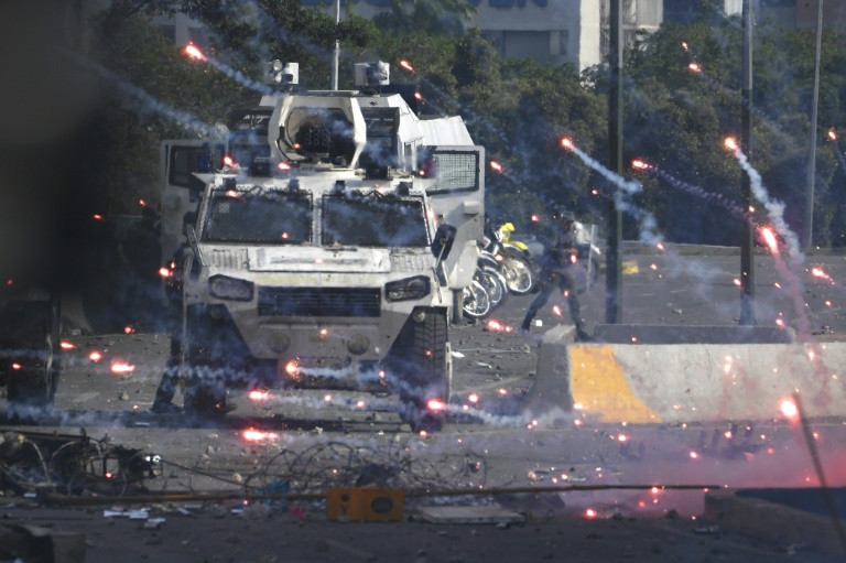 One shot dead, at least 27 hurt in Venezuela May Day clashes