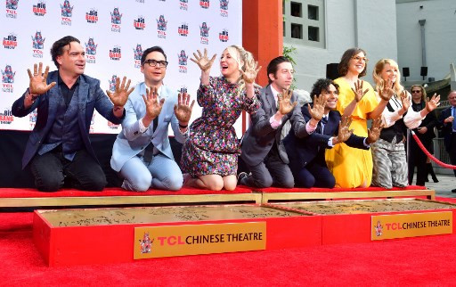 'Big Bang Theory' cast get ready for final farewell with handprint ceremony