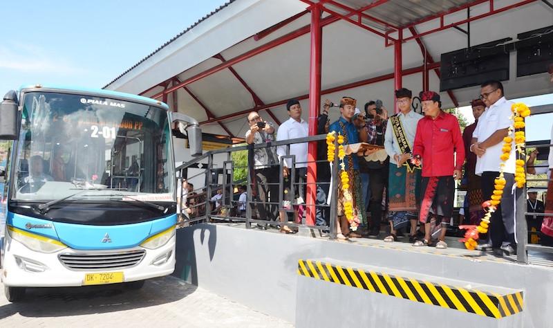 Bus Trans Sarbagita yang diluncurkan kembali | Sumber: Pemerintahan Provinsi Bali