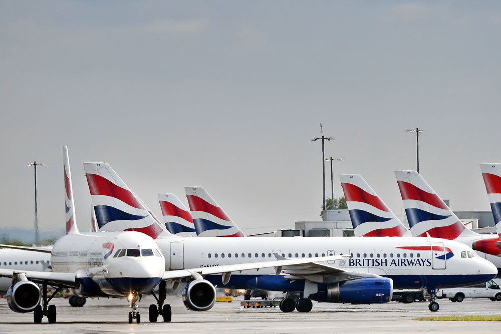 British Airways cancels flights to Italy, Korea, Singapore as coronavirus hits demand