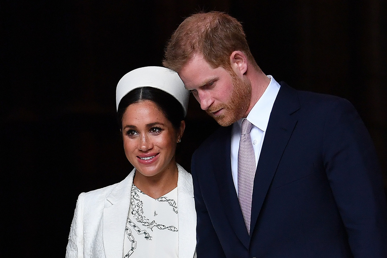 Meghan, Britain's Duchess of Sussex and wife of Prince Harry, gives birth to boy