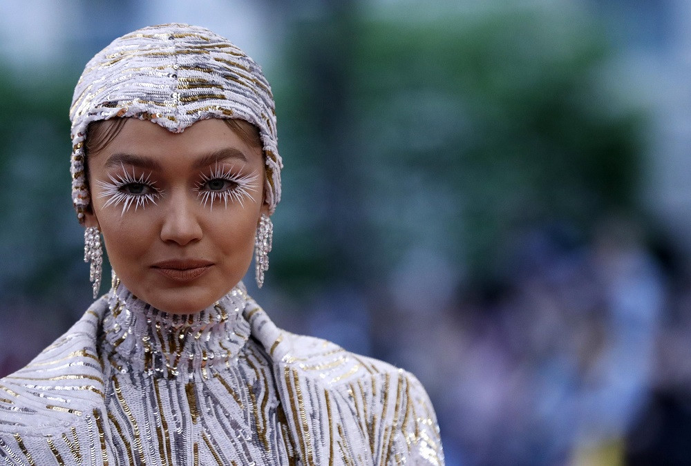 Gigi Hadid at the Metropolitan Museum of Art Costume Institute Gala in New York City, US, on May 6, 2019.