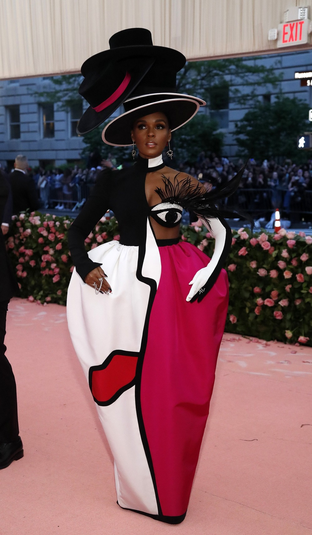 Janelle Monae at the Metropolitan Museum of Art Costume Institute Gala in New York City, US, on May 6, 2019.