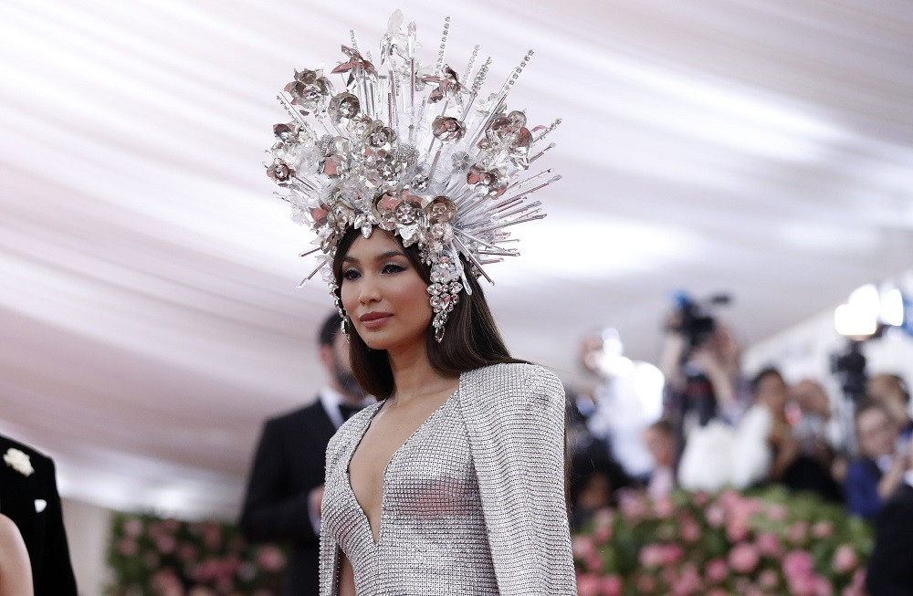 Gemma Chan at the Metropolitan Museum of Art Costume Institute Gala in New York City, US, on May 6, 2019.