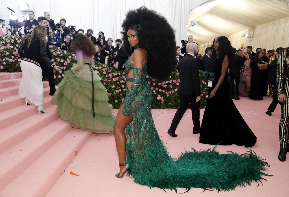 Ciara at the Metropolitan Museum of Art Costume Institute Gala in New York City, US, on May 6, 2019.