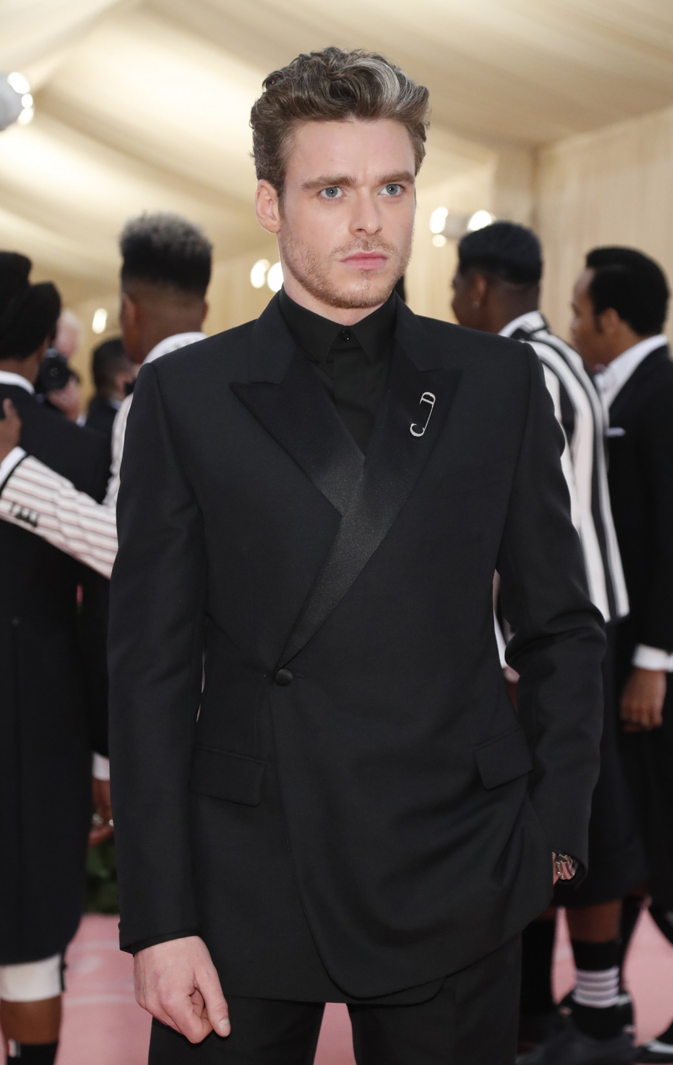 Richard Madden at the Metropolitan Museum of Art Costume Institute Gala in New York City, US, on May 6, 2019.