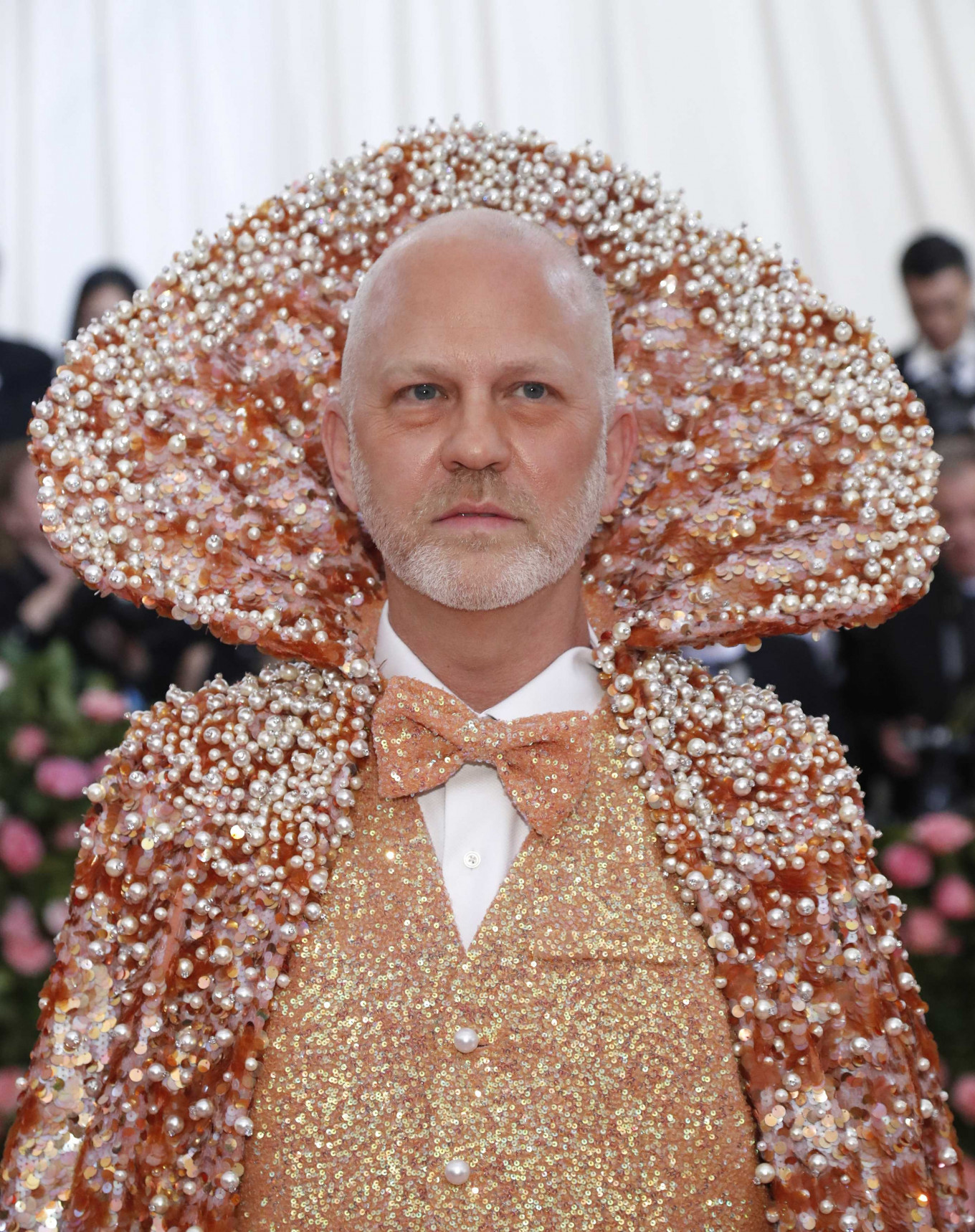 Ryan Murphy at the Metropolitan Museum of Art Costume Institute Gala in New York City, US, on May 6, 2019.