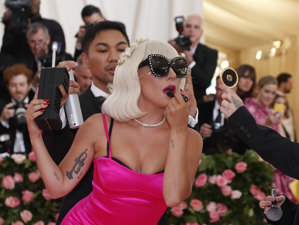 Lady Gaga at the Metropolitan Museum of Art Costume Institute Gala in New York City, US, on May 6, 2019.