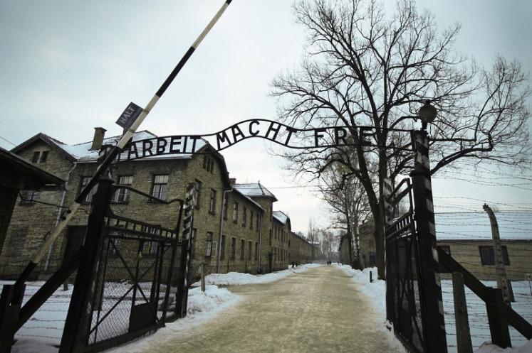 Auschwitz museum threatens to shun Italy book fair over neo-fascist presence