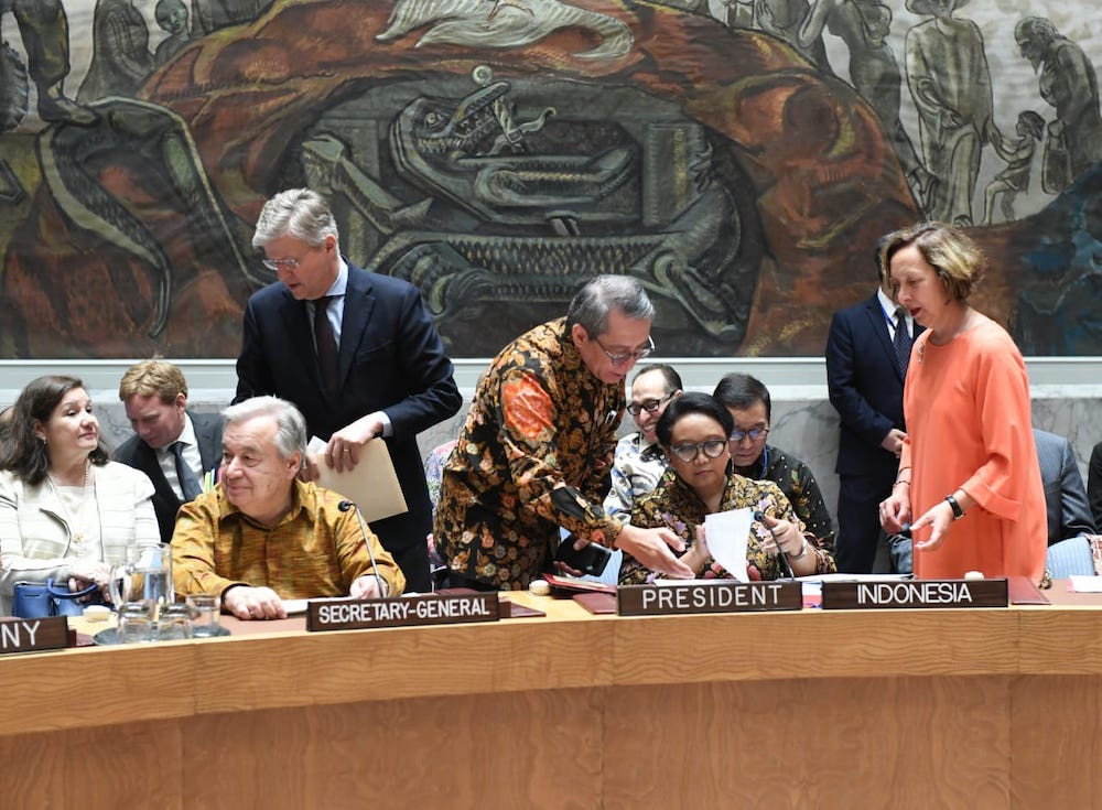 What has Indonesia achieved in UNSC?