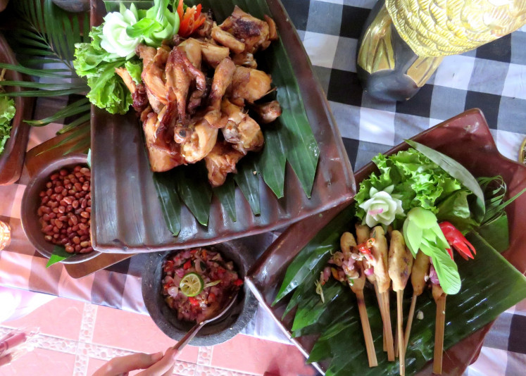 For those in Malang but craving Balinese food for iftar, Ubud Hotel and Cottages in Malang can be a good choice.