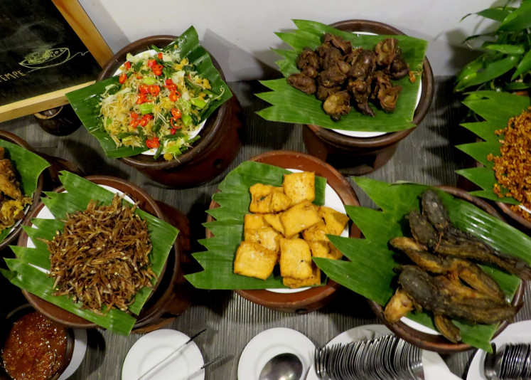 Whiz Prime Hotel in Malang, East Java, is serving up a special menu titled Delight of Ramadan featuring Javanese cuisine.