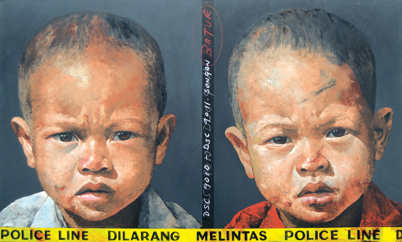 Lot 637 Dilarang Melintas #1  by Agung Mangu Putra