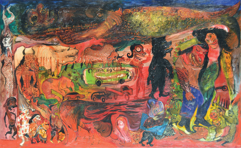 Lot 630 Setan Mbesan (2000-2001) by Nasirun