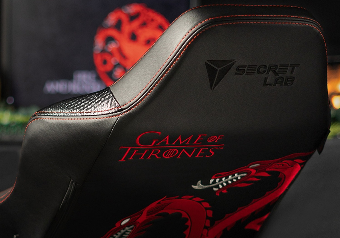 'Game of Thrones' gaming chairs available for die-hard fans