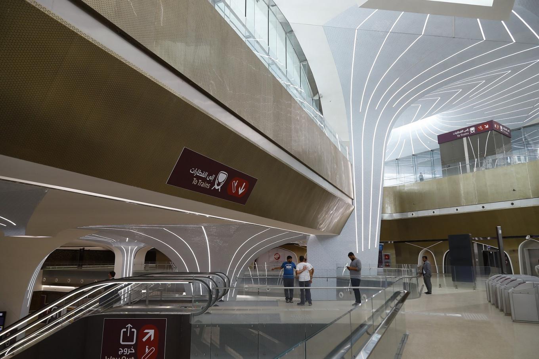 Qatar opens first metro line