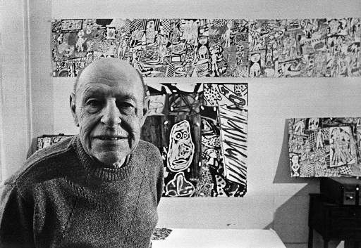 Jean Dubuffet Retrospective Opening In Venice For The City