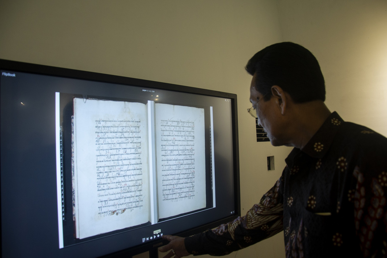 Yogyakarta Palace recovers centuries old manuscripts
