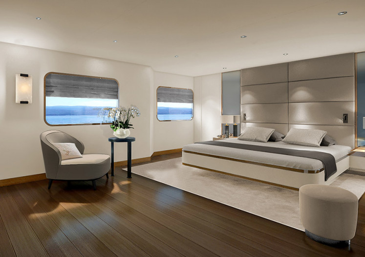Rendering of Aqua Blu interior