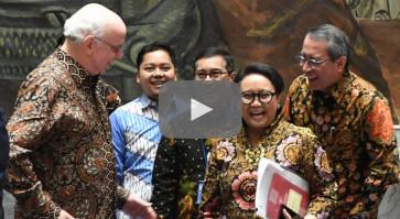 Batik, tenun diplomacy  at UNSC session on peacekeeping