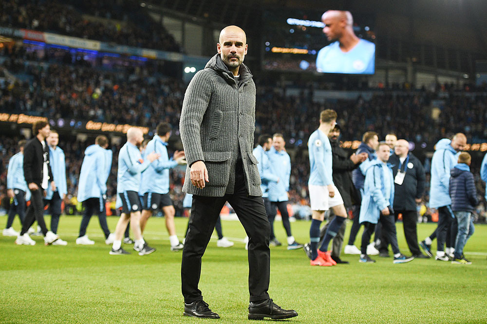 Roles reversed as Guardiola seeks to follow trail blazed by Zidane