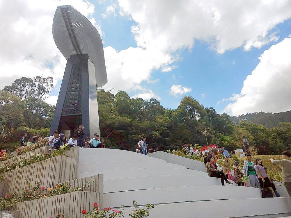 Monument of KM Sinar Bangun tragedy unveiled