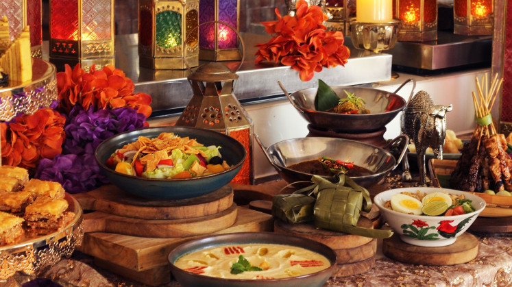 The Ramadan buffet at Bengawan restaurant, Keraton at the Plaza.