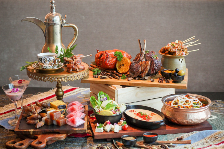 A special Ramadan menu for breaking the fast is presented at Collage all-day-dining restaurant at Pullman Jakarta Central Park.