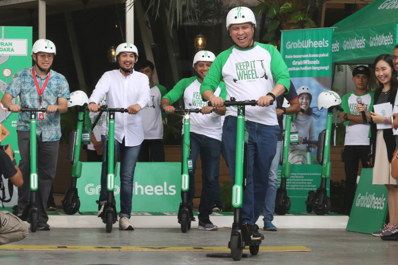 West Java to welcome Grab electric scooters, bikes, cars