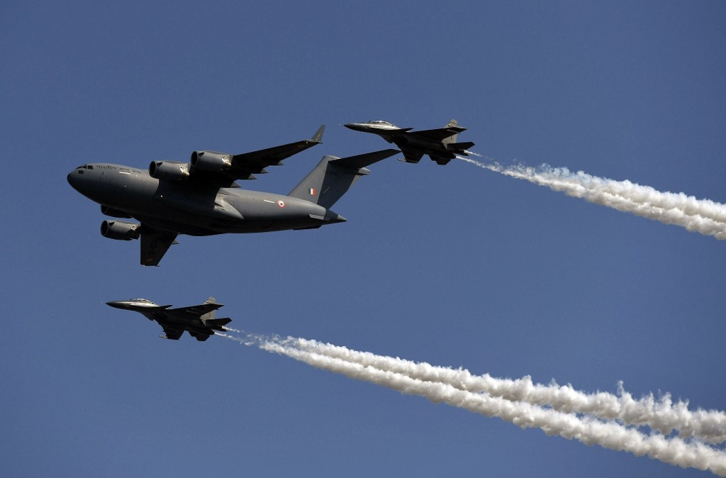 Indian jets intercept cargo plane flying from Karachi