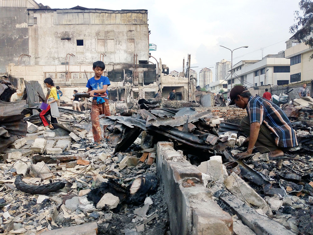 Kampung Bandan fire victims asked for patience as city seeks solution