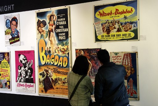 In Lebanon, vintage film posters question Western cliches