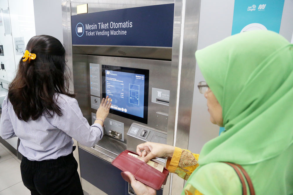 MRT Jakarta stations to have more parking areas, ticket machines