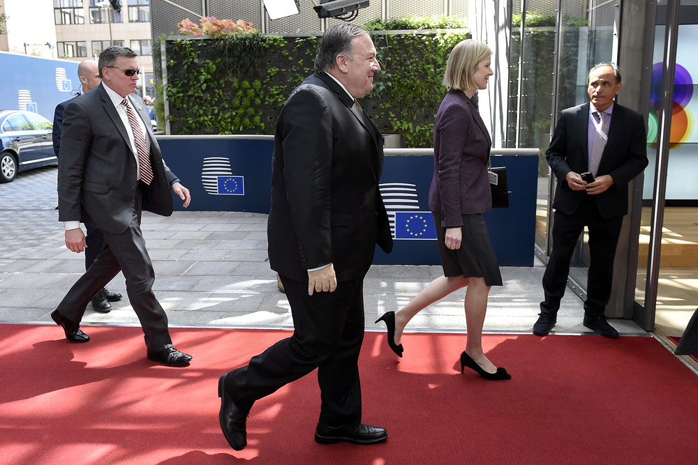 Pompeo says he carries 'perfect message' of press freedom in Kazakhstan