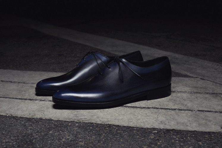 The collection includes Berluti's Alessandro Oxford shoes.