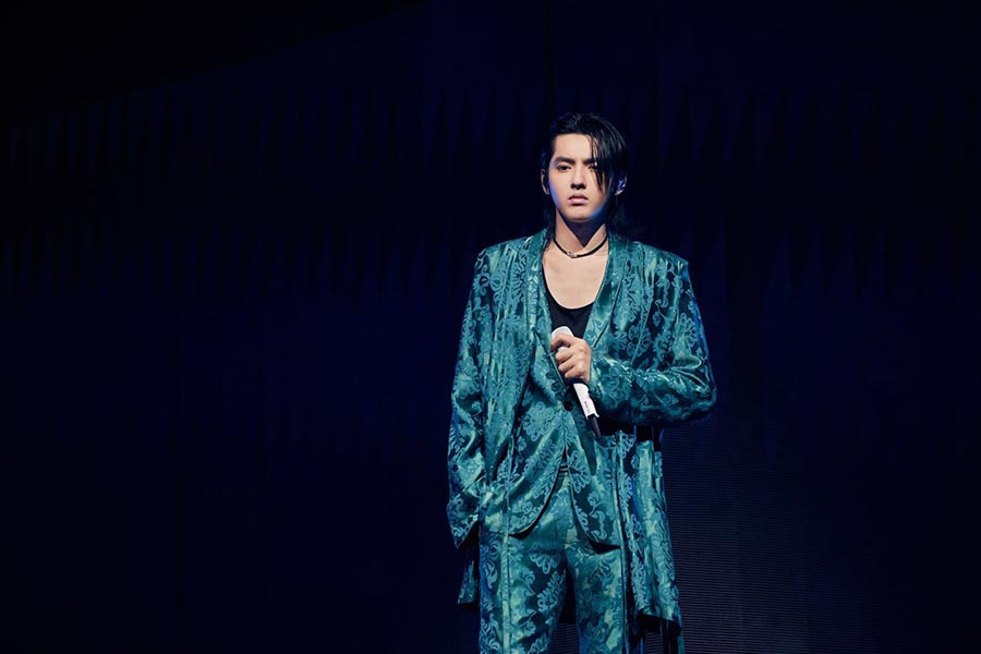 Kris Wu performs in Beijing for Alive Tour