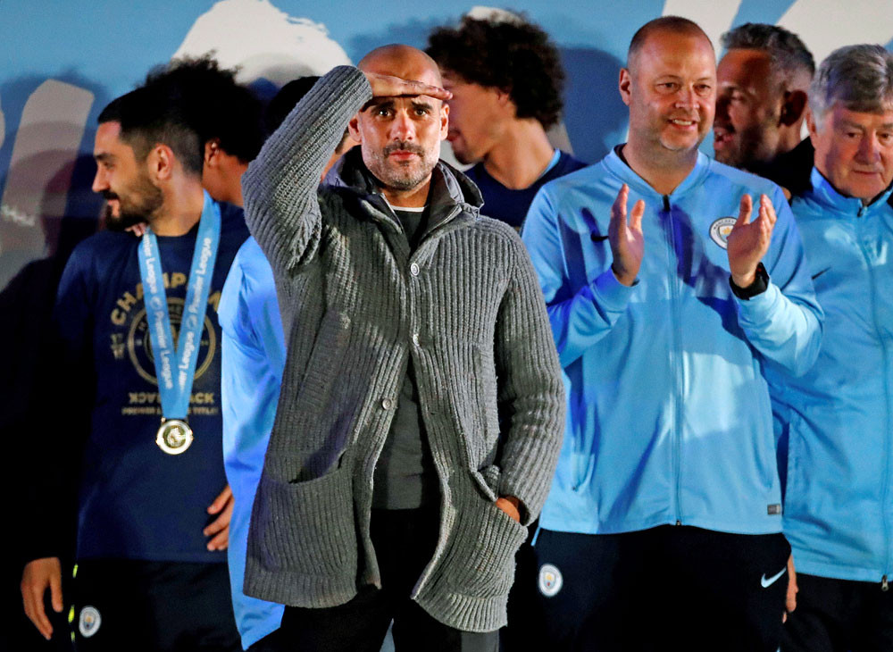 Mancheter City must rebuild for title challenge: Guardiola