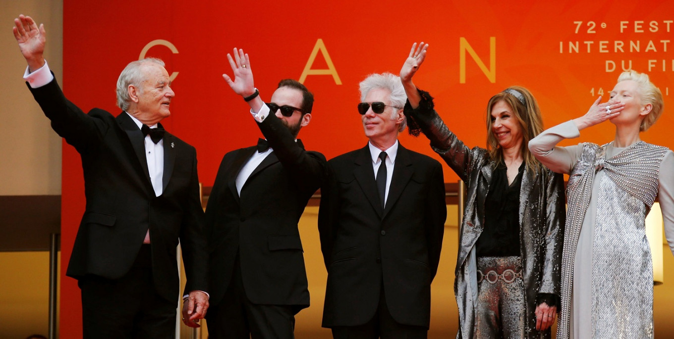Jarmusch's star-studded zombie parable kicks off Cannes