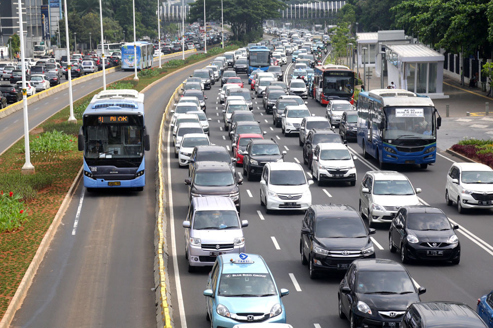 Less congested Jakarta