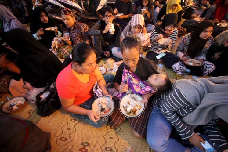 A time of togetherness at Jogokariyan Mosque
