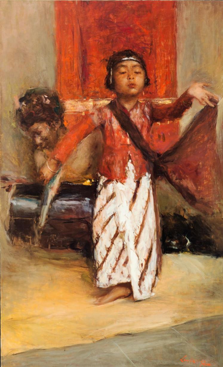 'Javanese Dancer' by Romualdo Locatelli