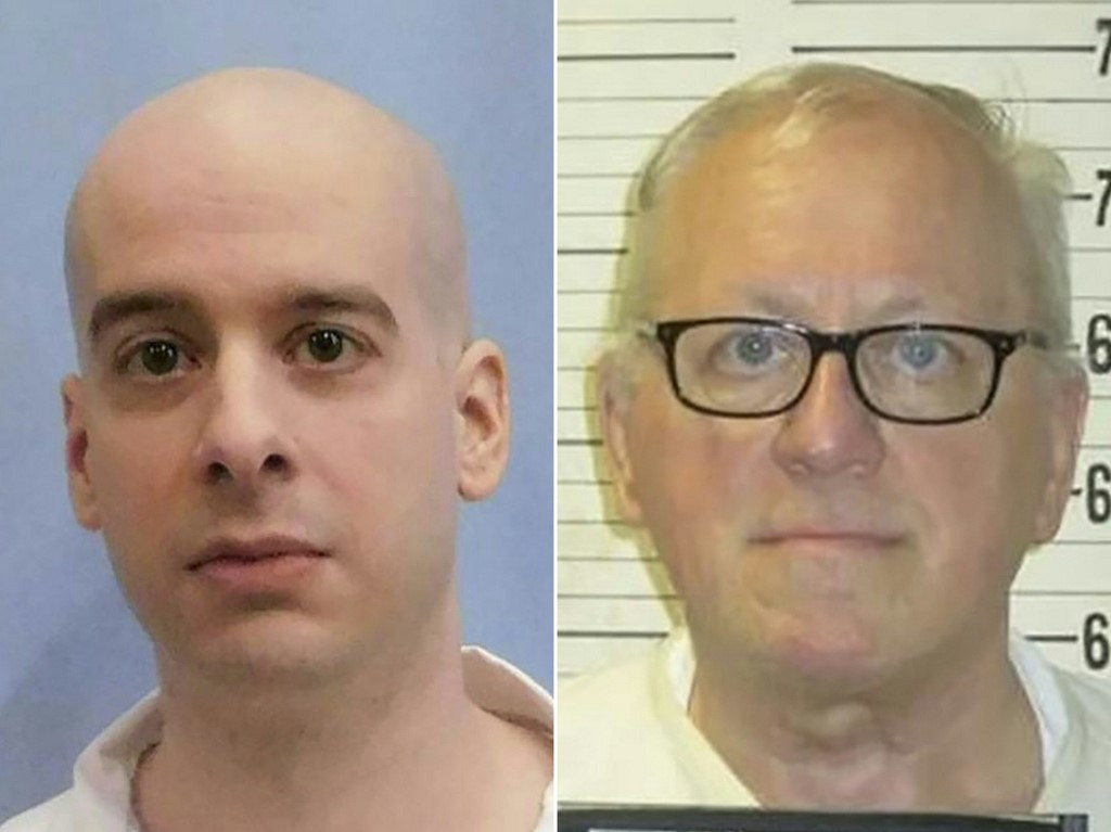 Two US death row inmates executed