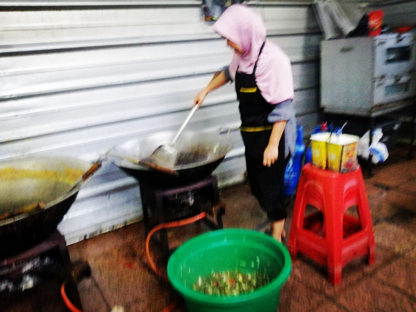 Compassion behind cooking 'iftar' meals