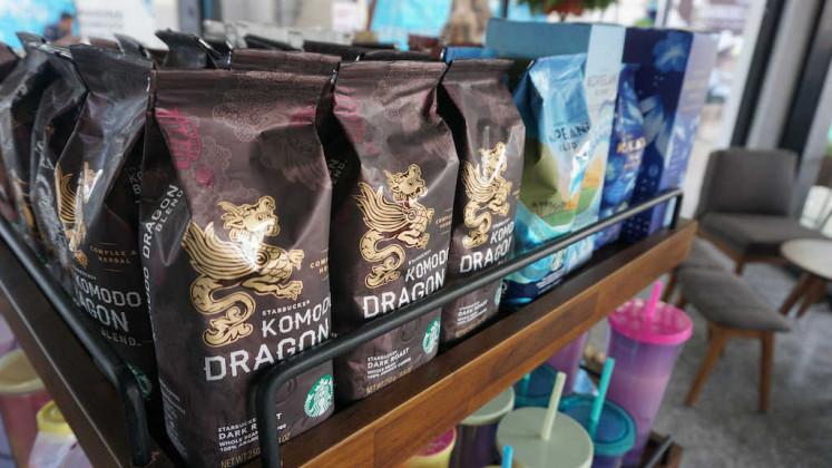 Komodo Dragon coffee mix by Starbucks.