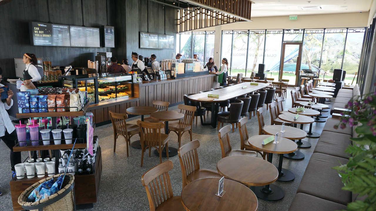 Starbucks opens first store in Labuan Bajo
