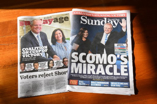 Fear of change: Negative politics wins Australia election